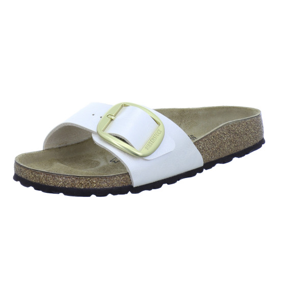 Madrid Big Buckle schmal graceful pearl white von Birkenstock