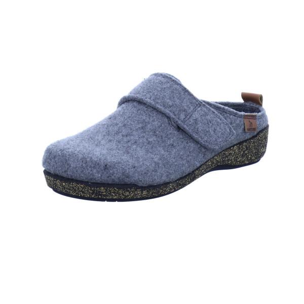Pantoffel grau von Hartjes
