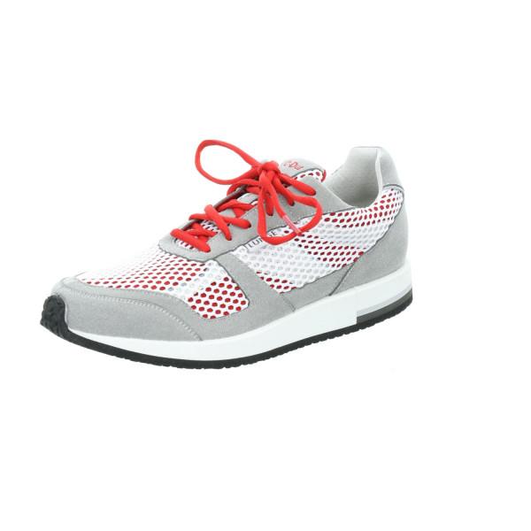 Cl. Run W silber/weiß/rot von Lunge